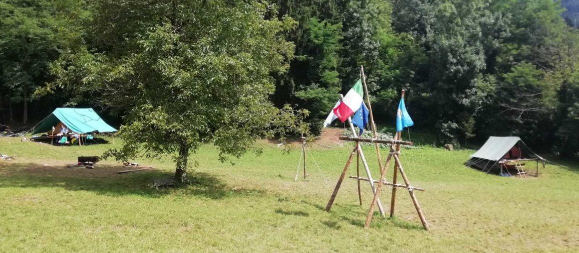 Campo scout al Park Oasi di Arta Terme